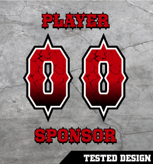 Free Custom Numbers for Softball Jersey Shirts